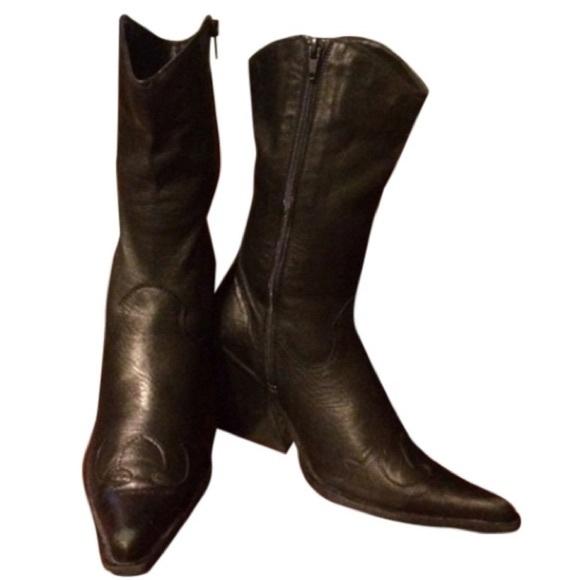612f3ecbed 🛍SOLD ON TRADESY🛍 Lavorazione Artigiana Boots